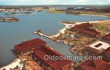 dis001296 - Polynesian Village Walt Disney World, FL, USA Postcard Post Card