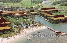 dis001303 - Aloha from the South Seas, Seven Seas Lagoon Walt Disney World, FL, USA Postcard Post Card