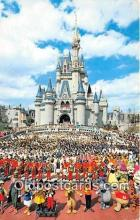 dis001304 - Cinderella Castle Walt Disney World, FL, USA Postcard Post Card