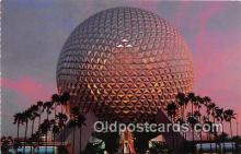 dis001315 - Spaceship Earth Walt Disney World, FL, USA Postcard Post Card