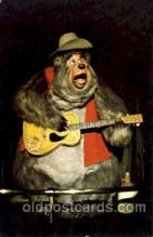 dis100002 - The country bear jamboree Disney Postcard Post Card