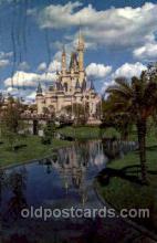 dis100007 - Cinderella Castle Disney Postcard Post Card