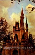 dis100013 - Cinderella Castle Disney Postcard Post Card