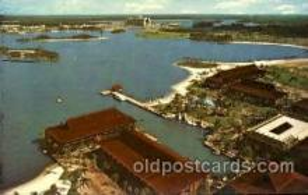 dis100019 - The polynesian village Disney Postcard Post Card