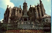 dis100022 - The haunted mansion Disney Postcard Post Card
