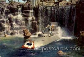 dis100023 - Submarine Falls Disney Postcard Post Card