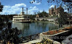 dis100025 - Cruising the river of American Disney Postcard Post Card