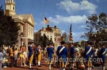 dis100030 - Liberty square fife and drum corps Disney Postcard Post Card