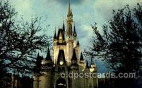 dis100031 - Cinderella Castle Disney Postcard Post Card