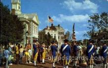 dis100035 - Liberty square fife and drum corps Disney Postcard Post Card