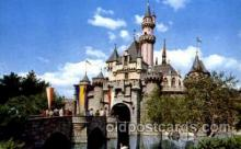 dis100038 - Sleeping beauty castle Disney Postcard Post Card