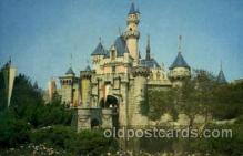 dis100049 - Sleeping beauty castle Disney Postcard Post Card