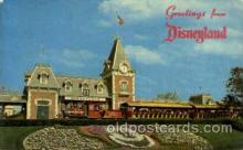 dis100067 - Magic kingdom Disney Postcard Post Card