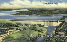 dms001002 - Norfork Dam and Lake Dam, Dams Postcard Post Card