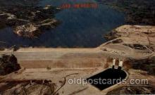 dms001009 - Lake Meredith, Taxas, Usa Dam, Dams Postcard Post Card
