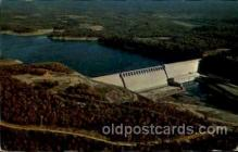 dms001011 - Bull Shoals Dam, Arkansas, USA Dam, Dams Postcard Post Card