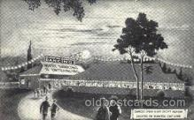 dnc001008 - Hiawatha Gardens Dancing Ballroom Dancing Postcard Post Card