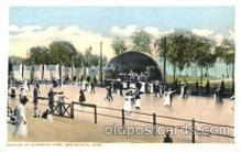 dnc001015 - Riverside Park, Springfield, Massachusetts, USA Ballroom Dancing Postcard Post Card