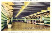 dnc001018 - Coloramic Rainbow Ballroom, Mississippi, USA Ballroom Dancing Postcard Post Card