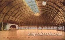 dnc001019 - Saltair Pavilion, Salt lake, Utah, USA Ballroom Dancing Postcard Post Card