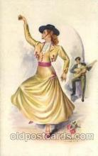 dnc001030 - Artist Giabert Sole Dance, Dancing Postcard Post Card