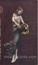 dnc100001 - Gertrude Hoffmann, Salome Dance Dance, Dancing Postcard Post Card
