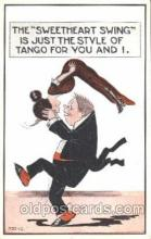 dnc100010 - Tango Dance, Dancing Postcard Post Card