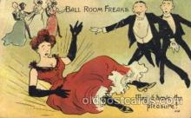 dnc100017 - Dance, Dancing Postcard Post Card
