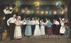 dnc100018 - Dance, Dancing Postcard Post Card