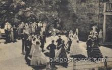 dnc100020 - The pioneer dancers, Colorado, USA Dance, Dancing Postcard Post Card