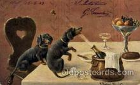 dog100228 - Dog, Dogs, Postcard Post Card