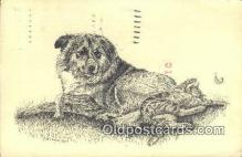 dog100672 - Collie Dog Post Card Postcard Old Vintage Antique