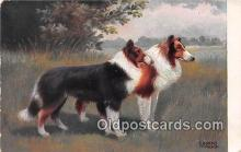 dog100705 - Artist E Dorno Munchen  Postcard Post Card