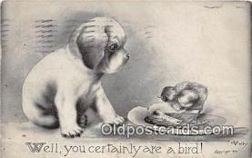 dog200002 - Artist Vincent Colby 1909 Postcard Post Card
