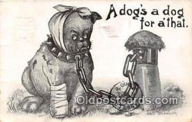 dog200016 - I Phillips Postcard Post Card