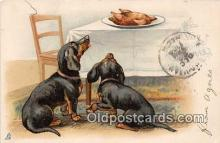 dog200073 - Raphael Tuck & Son's Christmas Series Postcard Post Card