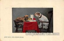dog200104 - John Bull & Sandy M'Nab  Postcard Post Card