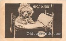 dog200111 - Good Night  Postcard Post Card