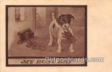 dog200116 - My Busy Day  Postcard Post Card