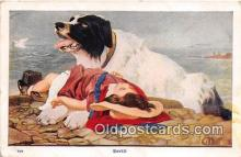 dog200118 - Saved  Postcard Post Card
