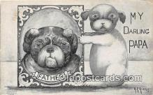 dog200144 - A E Avery Postcard Post Card
