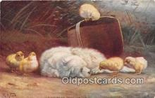 dog200194 - Artist RA Fox  Postcard Post Card