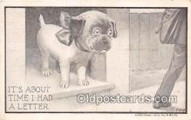 dog200199 - A Blue Postcard Post Card