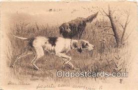 dog200201 - Postcard Post Card