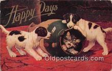 dog200213 - Happy Days B Cobbs Postcard Post Card