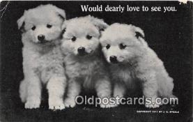 dog200221 - 1911 J G Steele Postcard Post Card