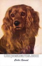 dog200240 - Cocker Spaniel Standard Arts Postcard Post Card