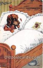 dog200338 - The Widow  Postcard Post Card