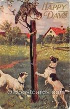 dog200358 - Happy Days  Postcard Post Card