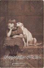 dog200456 - Sympathy Painted by B Riviere, RA Postcard Post Card